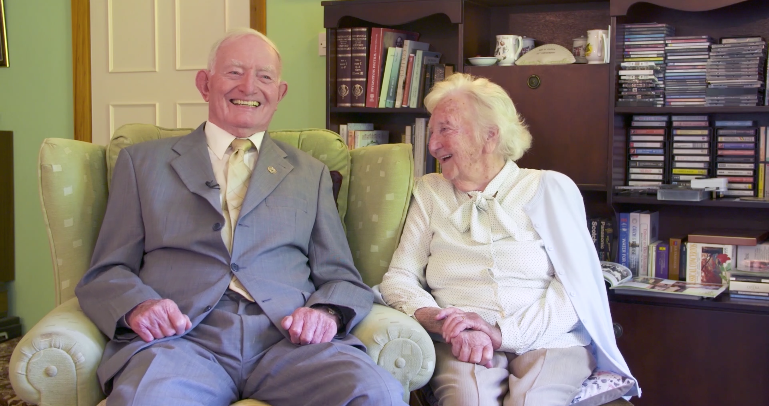 Ned and Eileen Cusack