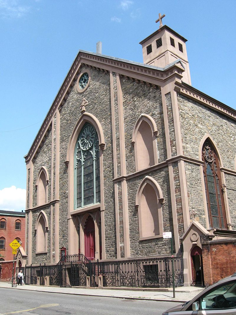 OLD ST PATS CATHEDRAL,NEW YORK CITY