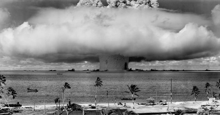 NUCLEAR,ATOM BOMB