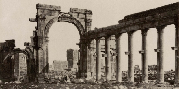 ANCIENT PALMYRA RUINS