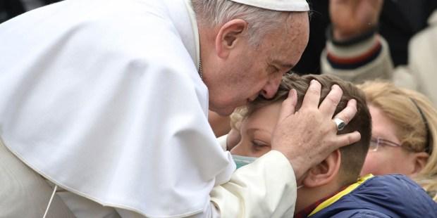 POPE FRANICS,SICK BOY