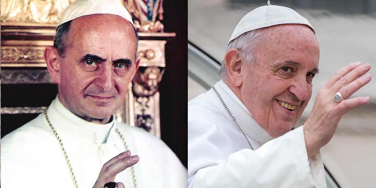 POPE PAUL VI,POPE FRANCIS