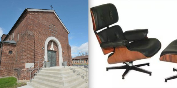 ST MARY'S CATHOLIC CHURCH,CHAIR