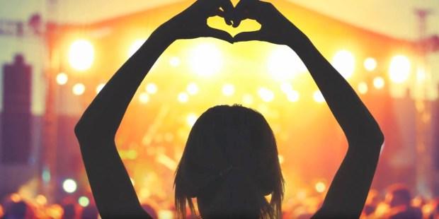 WOMAN,HANDS UP,HEART