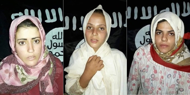 ISIS KIDNAPPED WOMEN