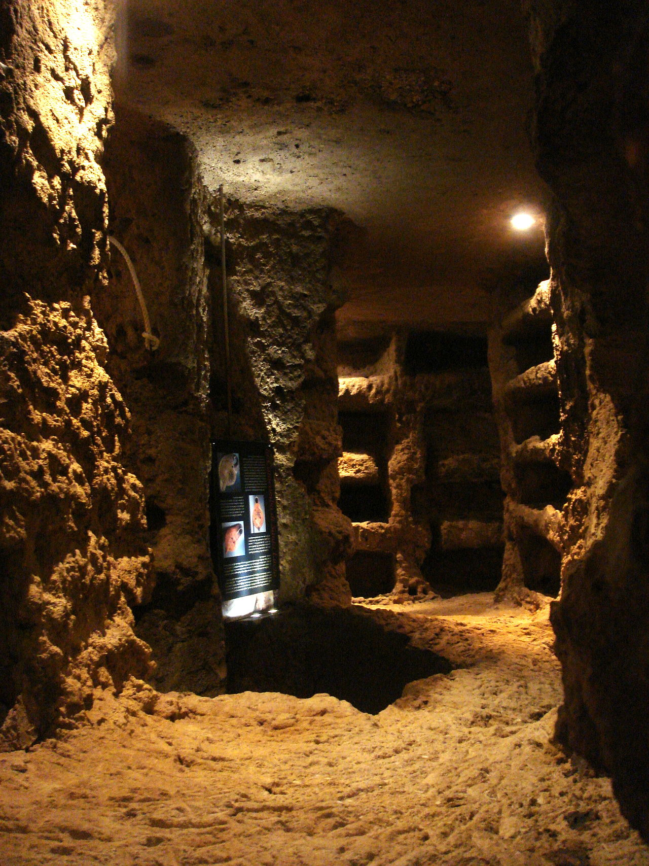 CATACOMBS OF ST JOHN