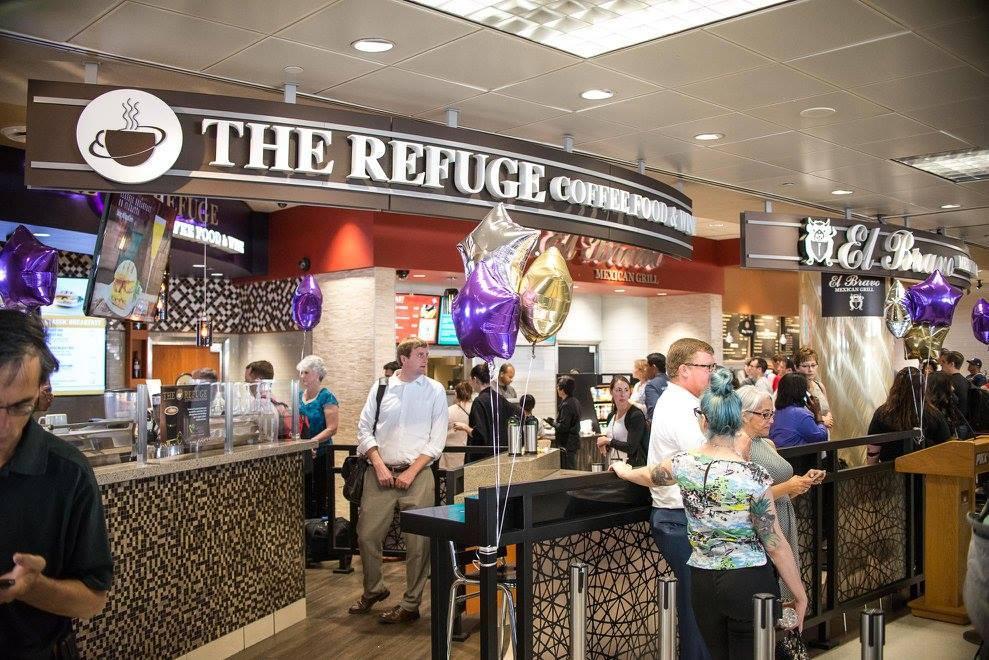 REFUGE CAFE;CATHOLIC; PHOENIX AIRPORT