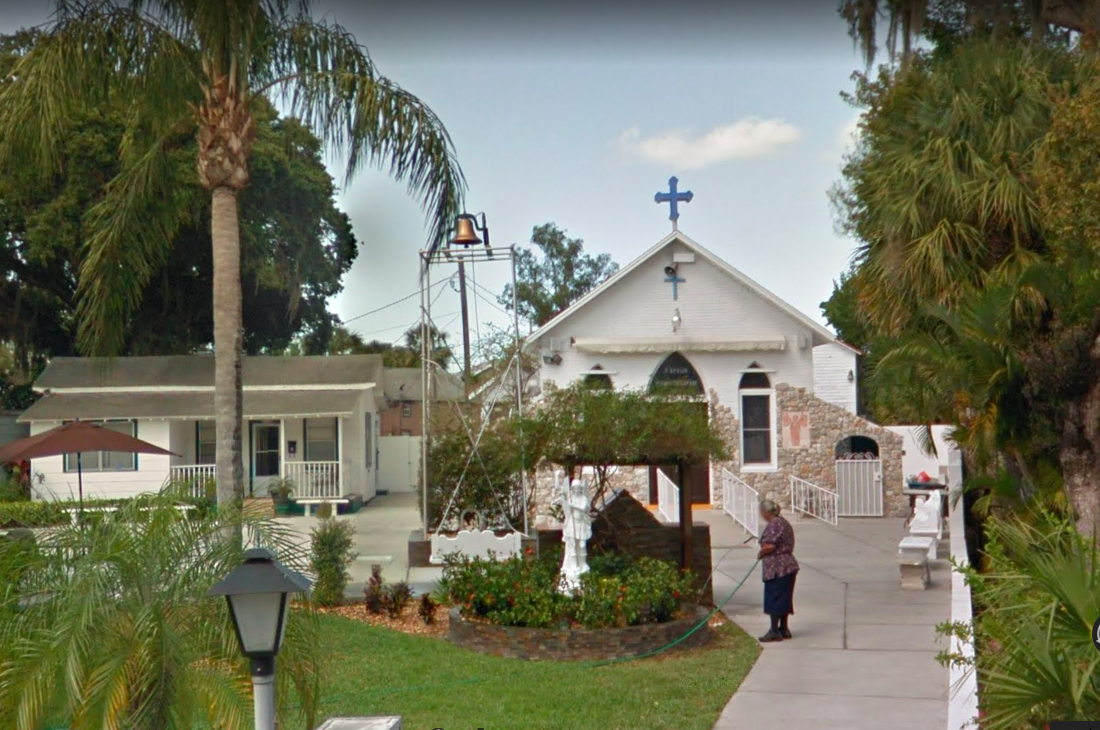 St. Michael's Shrine in Tarpon Springs, Florida