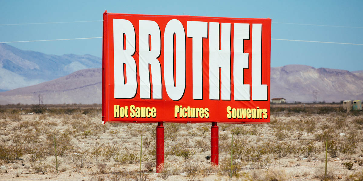 BROTHEL SIGN