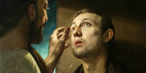 CHRIST HEALS THE BLIND