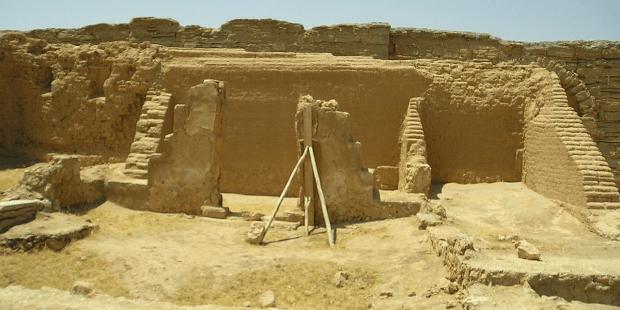 The site of Dura-Europos.