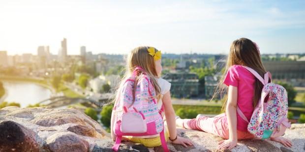 KIDS,OVERLOOK,CITY