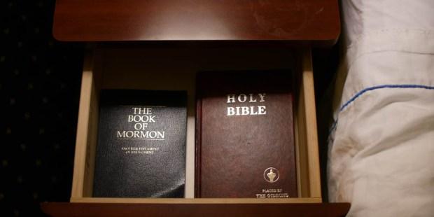 BIBLE,BOOK OF MORMON