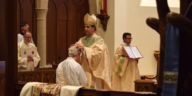 PRIEST BEING ORDAINED