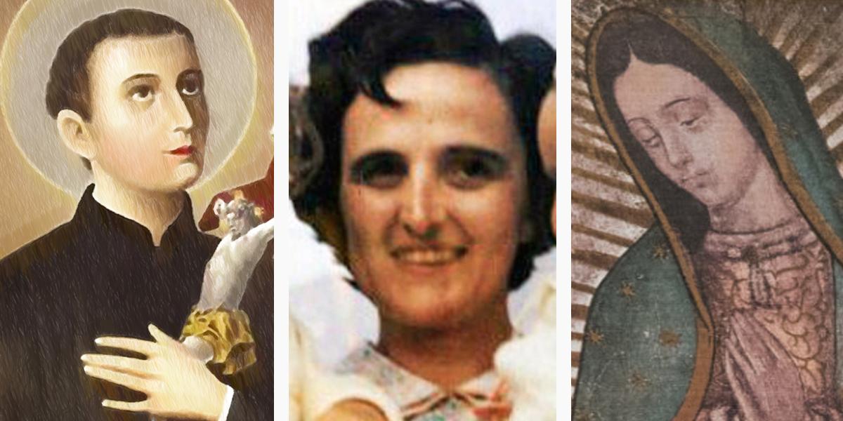 ST GERARD MAJELLA,GIANNA BERETTA MOLLA,OUR LADY OF GUADELUPE