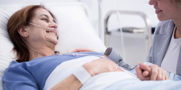 FEMALE,HOSPITAL BED