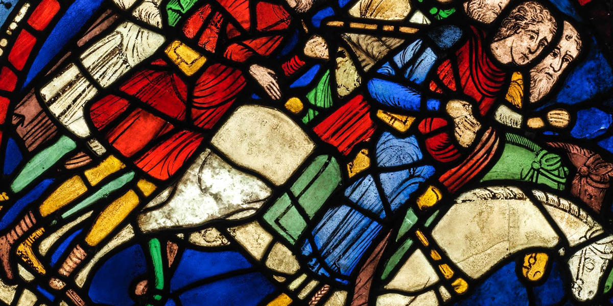 CSNTERV=BURY CATHEDRAL STAINED GLASS