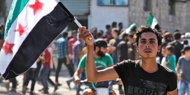 SYRIAN PROTESTOR