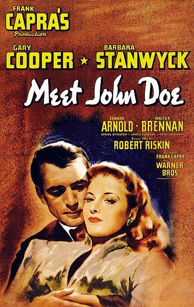 MEET JOHN DOE FILM POSTER