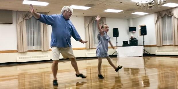 TAP DANCING DUET