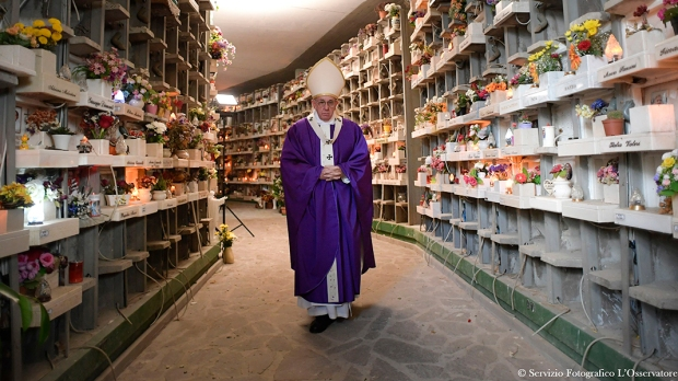 POPE FRANCIS,ALL SOULS