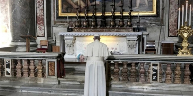 POPE GRAVE