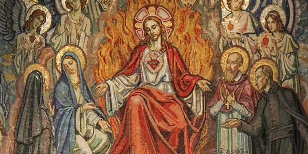 ST MARGARET MARY ALACOQUE,SACRED HEART
