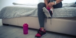 BED,SHOES,WORKOUT