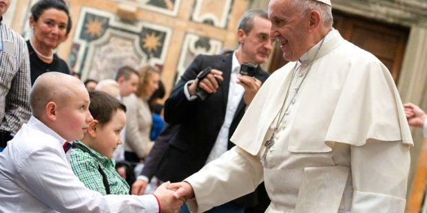 POPE FRANCIS,CHILDREN,CANCER