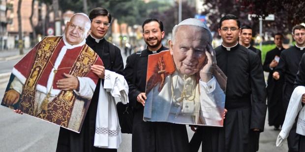 POPE JOHH II, POPE JOHN THE XXIII