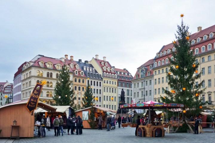 DRESDEN CHRISTMAS MARKET; GERMANY