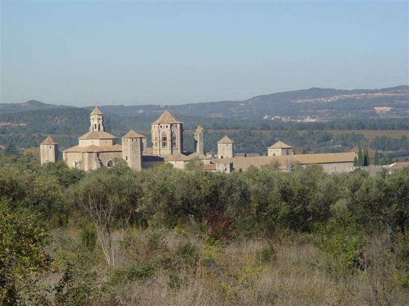 THE ROYAL ABBY OF SANTA MARIA DE POBLET,SPAIN