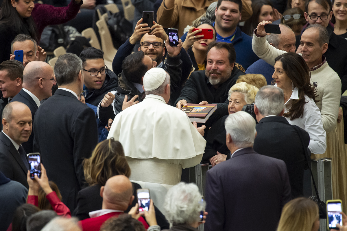 POPE AUDIENCE HOLY SEE