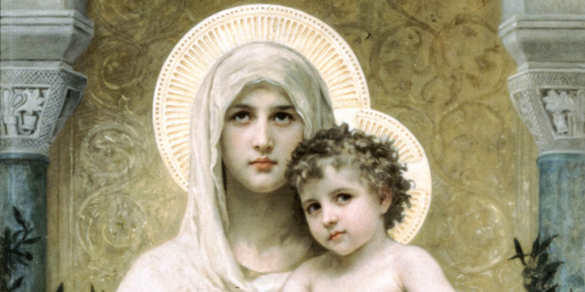 MARY WITH CHILD,ARK