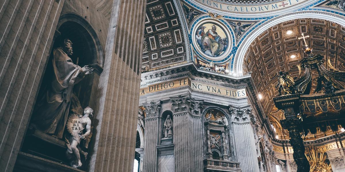 ST PETERS BASILICA,INTERIOR