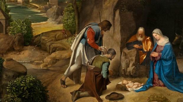 CHRIST,MANGER,SHEPARDS