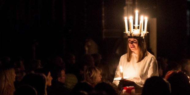 SWEDEN, LIGHTS FESTIVAL, ST LUCY