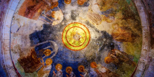 CEILING FRESCO, SAINT NICHOLAS CHURCH