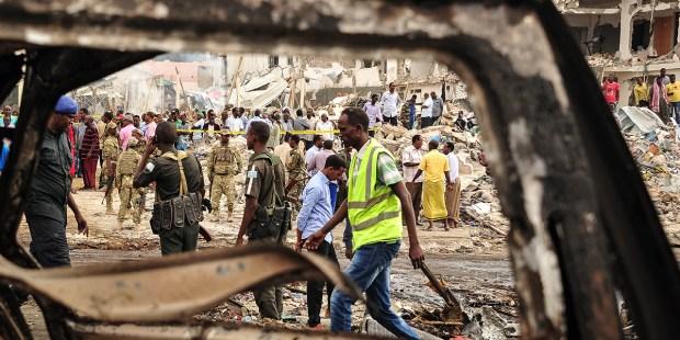 BOMBING - SOMALIA