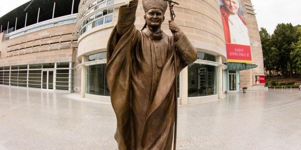 JOHN PAUL II SHRINE;WASHINGTON DC