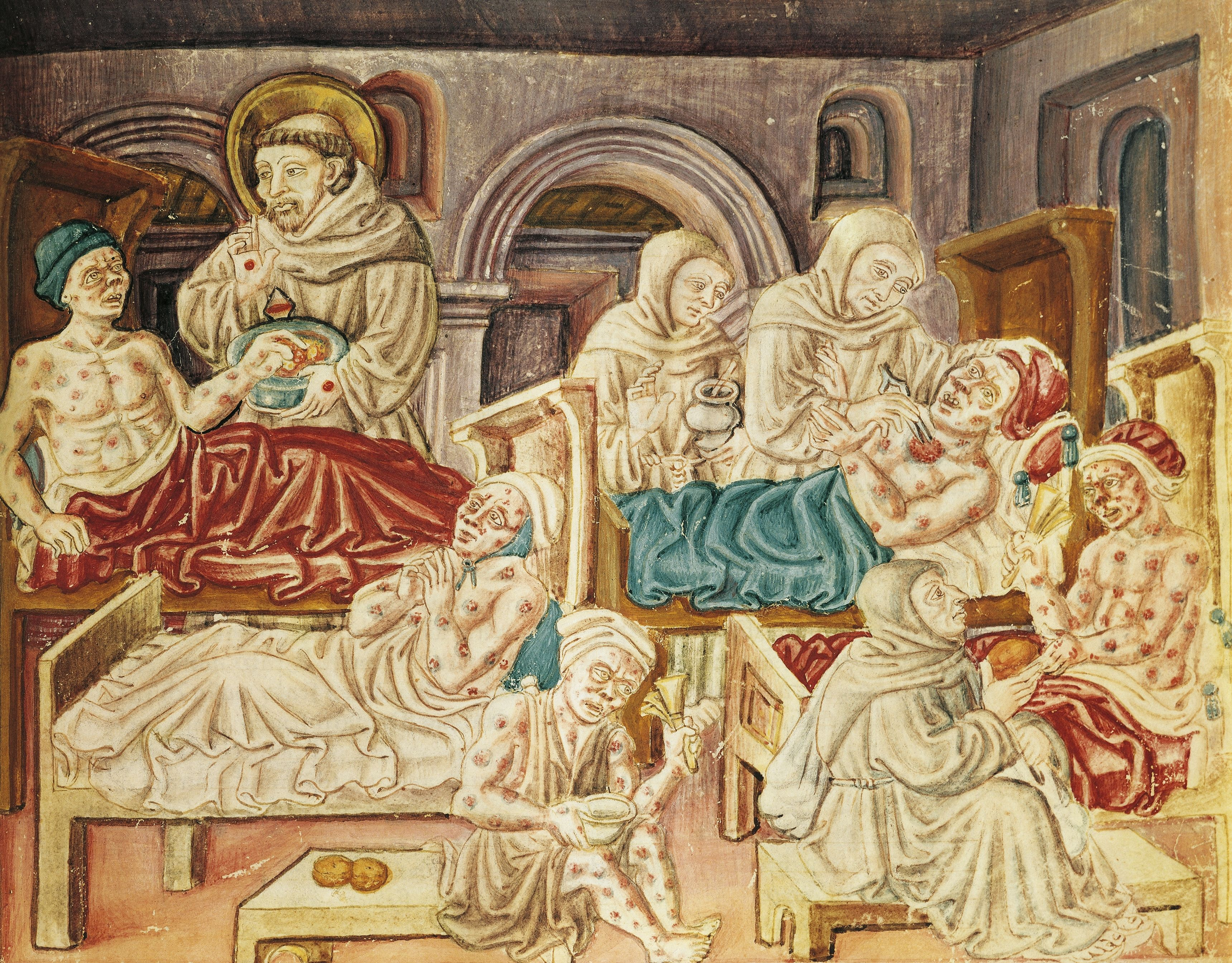 HOSPITAL; MIDDLE AGES; CHRISTIAN; LEPROSY