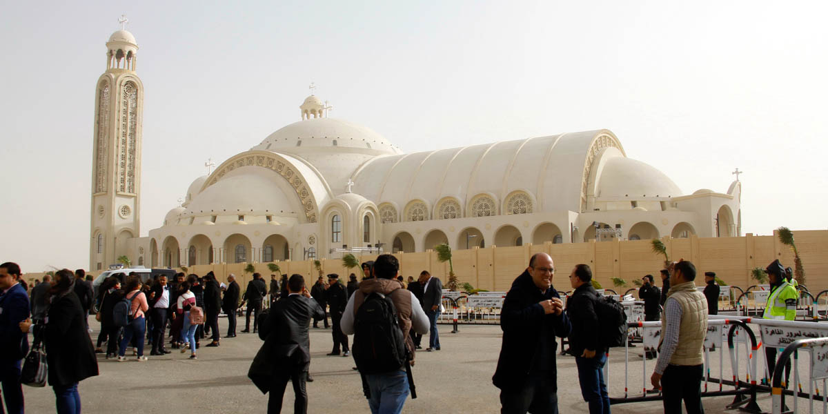 COPTIC CHRISTIANS,EGYPT,CATHEDRAL OF THE NATIVITY