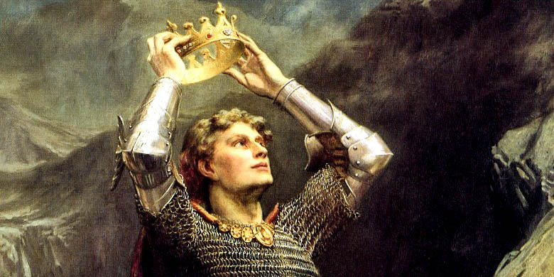 KING ARTHUR,CROWN