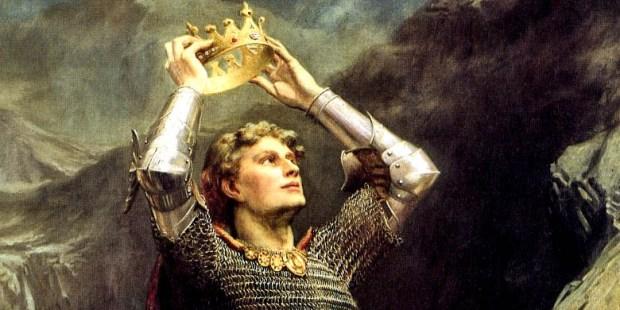 KING ARTHUR,CROWN