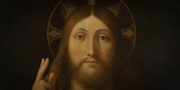 SALVATOR MUNDI,CHRIST