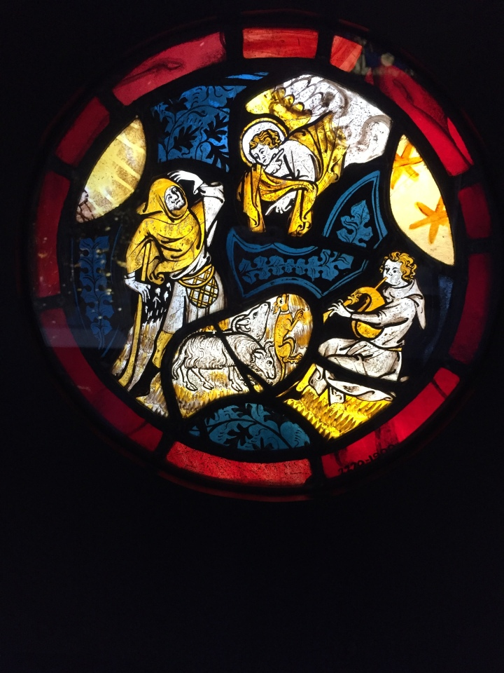 STAINED GLASS; ANGELS;ANNUNCIATION