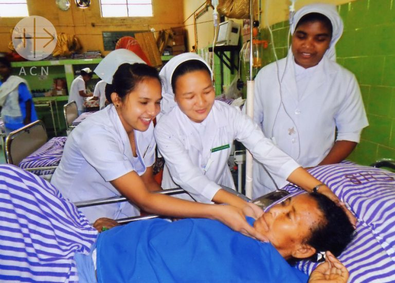 RELIGIOUS SISTERS; INDIA; AID TO THE CHURCH IN NEED; ACN