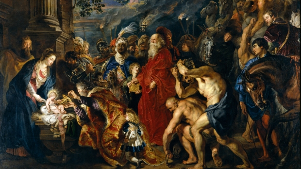 ADORATION OF THE MAGI, BY RUBENS