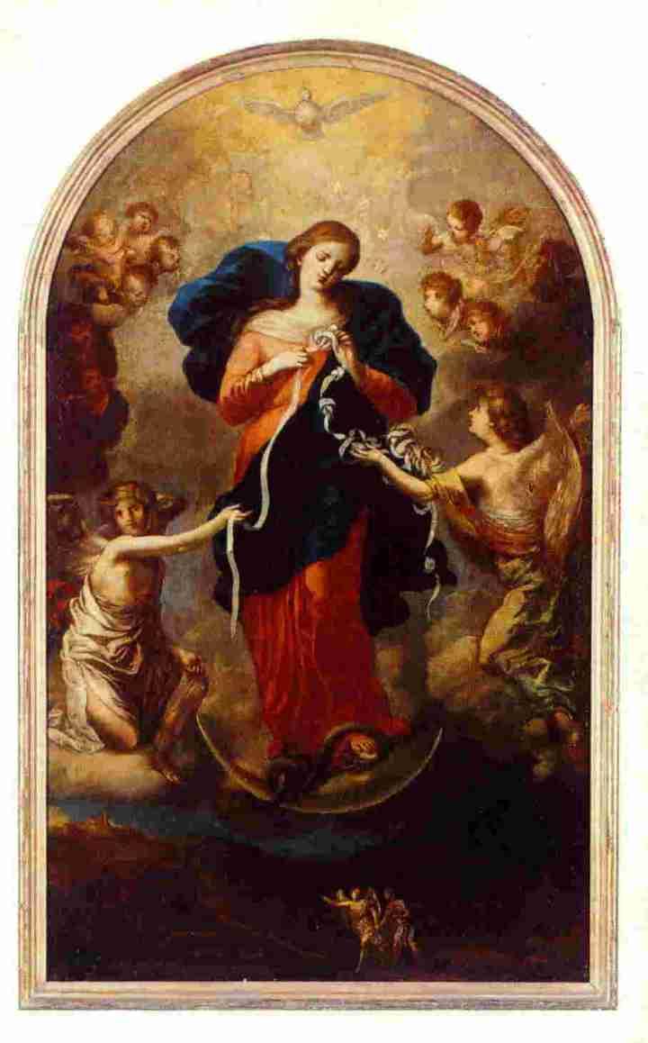 MARY UNDOER OF KNOTS MARY UNTIER OF KNOTS