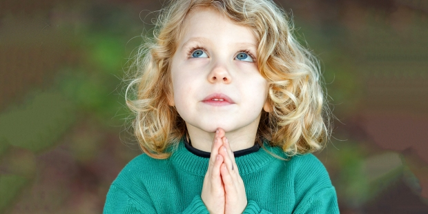 Can children be taught to pray silently?